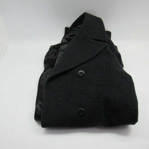 Kenneth Cole New York Black Lambswool and Cashmere